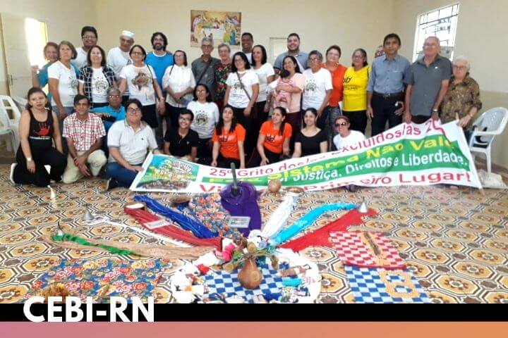 CEBI-RN realiza Encontro de Espiritualidade e celebra os 40 anos do CEBI em Mossoró