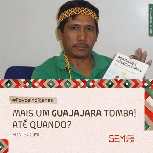 Zezico Rodrigues, mais uma liderança indígena assassinada.