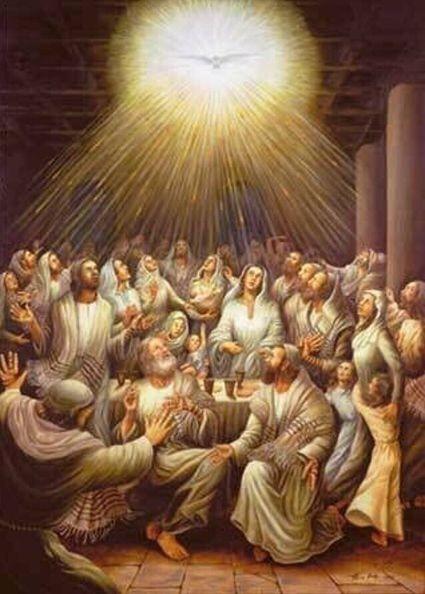 Pentecostes: sopro e fogo