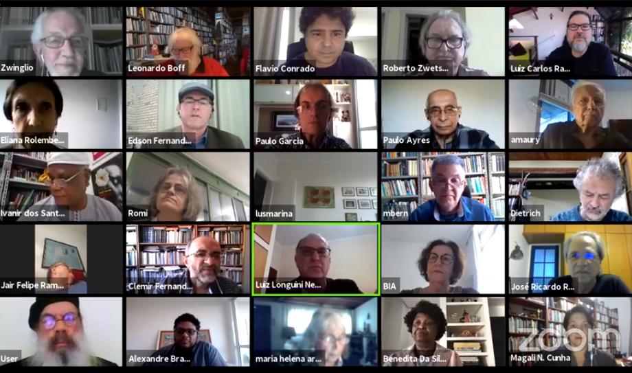 Lideranças ecumênicas de todo o Brasil homenageiam Jether Ramalho