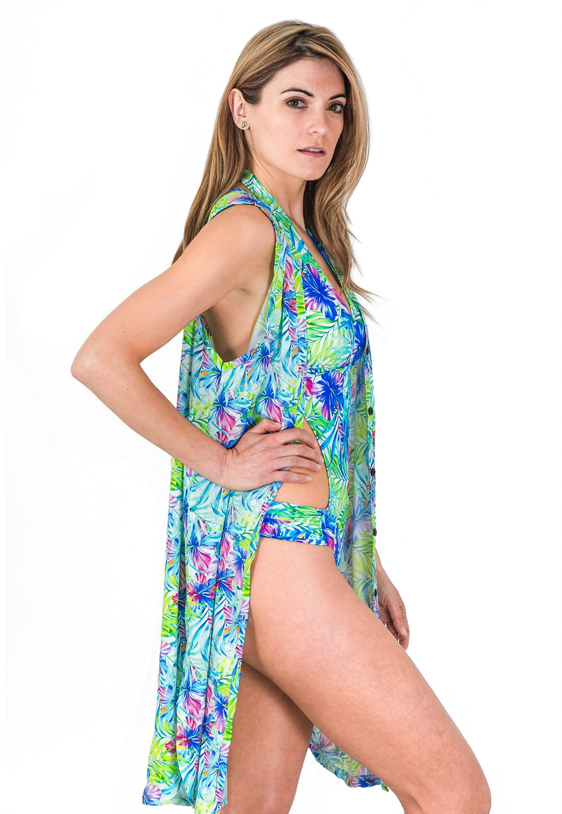Ripley - Camisola Salida de Playa Estampado Hawaii ! 0947020903d