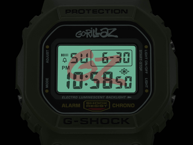 8947f0b8b2d9 Ripley - RELOJ G-SHOCK UNISEX DW-5600GRLZM-3ER EDICIÓN LIMITADA GORILLAZ