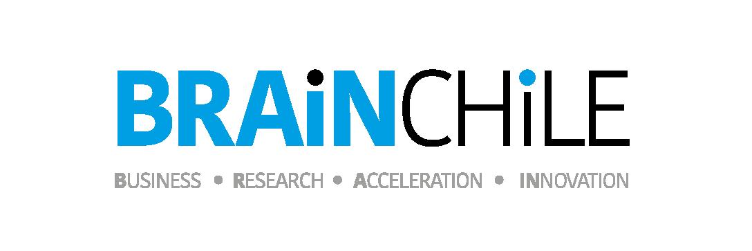 Logo brain sobre blanco