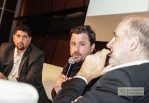 Gustavo Rodriguez junto a Martin Tetaz y Luis Secco