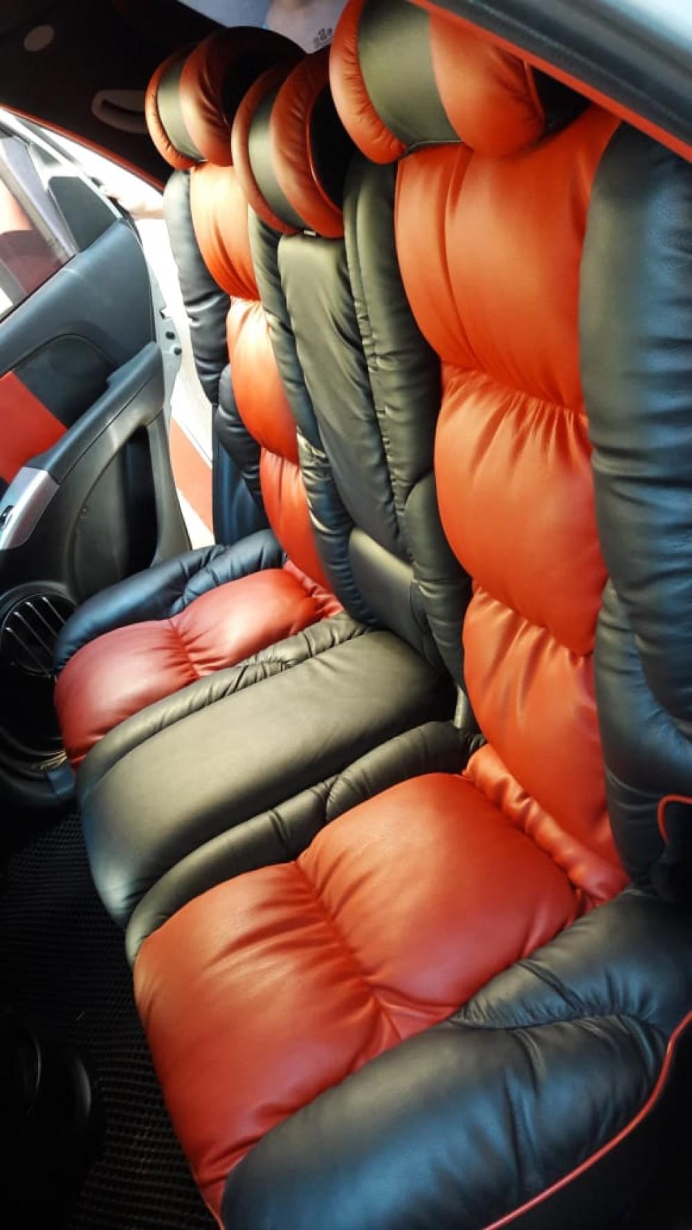 Cubierta de asiento rojo sin kia Sportage