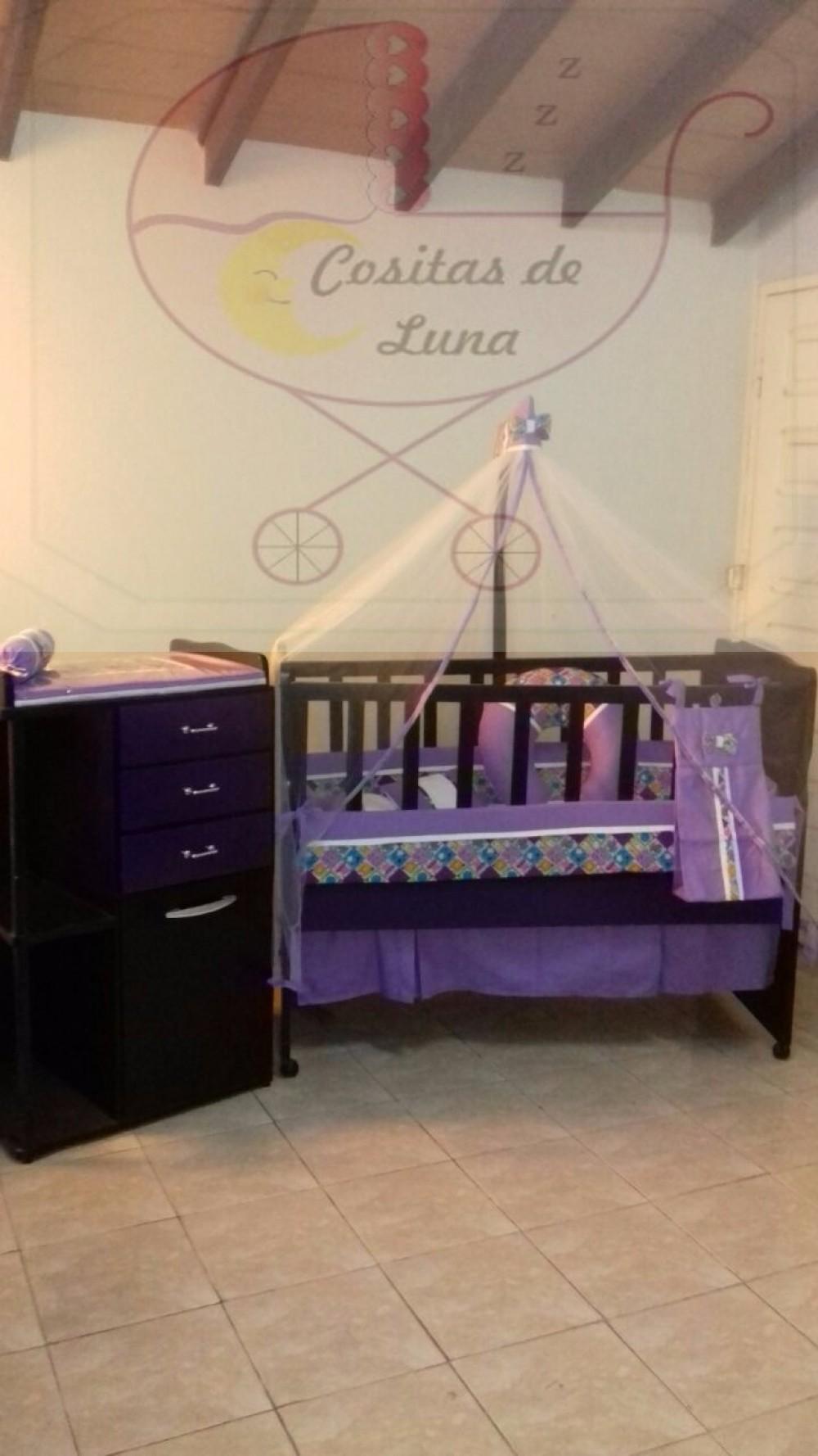 Cuna para bebe + mueble cambiador + ajuar para niña nuevo en ...