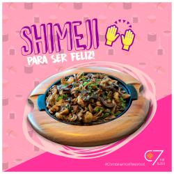 Shimeji C/ camarão C7 Sushi