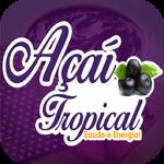 Açaí Tropical de Contagem - aplicativo e site de delivery criado pela cliente fiel