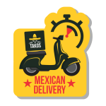 Takos Cocina Mexicana de Belo Horizonte - aplicativo e site de delivery criado pela cliente fiel
