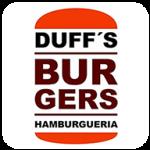 Duff's Burgers de Rio de Janeiro - aplicativo e site de delivery criado pela cliente fiel