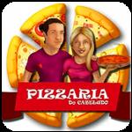 Pizzaria do Cabeludo de Manaus - aplicativo e site de delivery criado pela cliente fiel