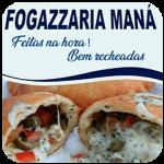 Fogazzaria Maná de São Paulo - aplicativo e site de delivery criado pela cliente fiel