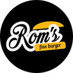 Rom's Fine Burger de Contagem - aplicativo e site de delivery criado pela cliente fiel