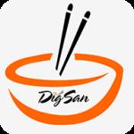 Dig San de Belo Horizonte - aplicativo e site de delivery criado pela cliente fiel