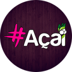 Hashtag Açaí - Ubá de Ubá - aplicativo e site de delivery criado pela cliente fiel