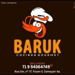 Crush - BARUK Cozinha Gourmet de Camaçari - aplicativo e site de delivery criado pela cliente fiel