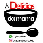 Crush - DELICIAS DA MAMA de Camaçari - aplicativo e site de delivery criado pela cliente fiel