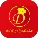 DISK SALGADINHOS de Niterói - aplicativo e site de delivery criado pela cliente fiel