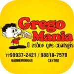 GREGO MANIA de Barreiras - aplicativo e site de delivery criado pela cliente fiel