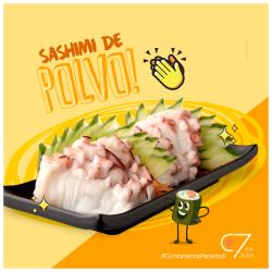 Sashimi Polvo C7 Sushi