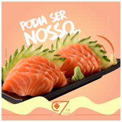 Sashimi Salmão  C7 Sushi