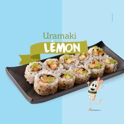 Uramaki Lemon C7 Sushi