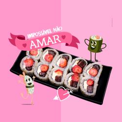 Uramaki Morango C7 Sushi