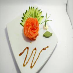 sashimi ( lâmina de Salmão) Oriental Delivery