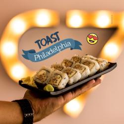 Uramaki Toash Philadephia C7 Sushi