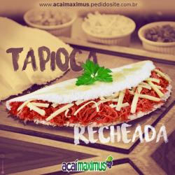 Açaí Maximus web app Tapioca Recheada