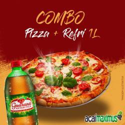 Açaí Maximus web app Combo (Pizza + Refri 1 L)