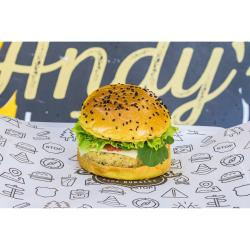 Andys Fine Burgers web app Vegetariano