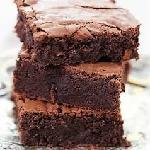 Brownie de Chocolate Andys Fine Burgers