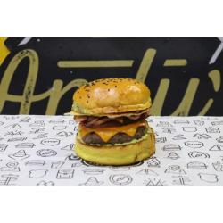 Kansas - Burger do Mês - Janeiro 2020 Andys Fine Burgers