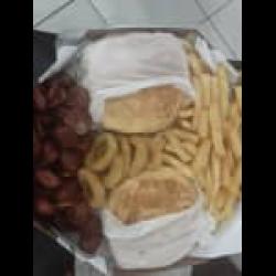 Combo hambúrguer 4 pessoas Assados e Cia