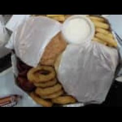 Combo hambúrguer 2 pessoas Assados e Cia