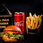 BILLY BURGER Delivery web app Polenguinho Burger + Fritas + Coca lata