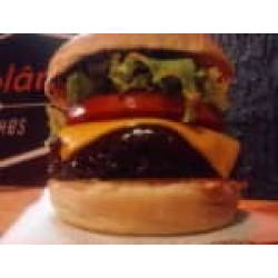 Bbq salad+ fritas + guarana 200ml Burgolândia Burgers