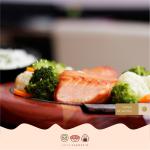 Teppan de Salmão C7 Sushi