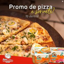 Cantina Ghiotto Pizzas web app PIZZA SOLIDÁRIA