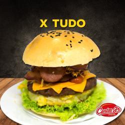 CARLOS JR LANCHES web app X-TUDO