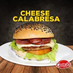 CARLOS JR LANCHES web app CHEESE CALABRESA