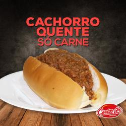 CARLOS JR LANCHES web app SÓ CARNE