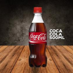 CARLOS JR LANCHES web app COCA COLA 500ML