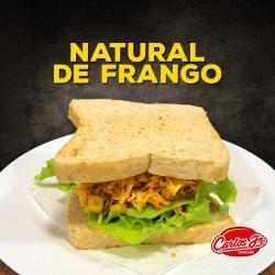 CARLOS JR LANCHES web app SANDUICHE NATURAL DE FRANGO