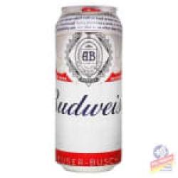 Cerveja Budweiser lata 410ml Chico Lanches