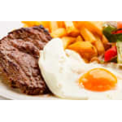 Bife a cavalo Combo in House