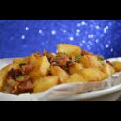 Aipim frito com bacon  - 500 g Combo in House