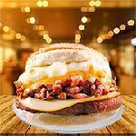 09 - Sanduíche picanha burger Come Lanches