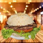 Mineirinho de hambúrguer bovino 90 g Come Lanches